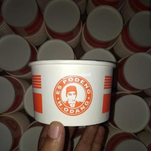 Cetak Paper Bowl Food Grade High Quality Berbagai Ukuran dan Desain - Jakarta