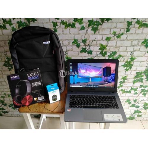 Laptop ASUS X441BA AMD A9 -9425 Ram 4GB Bekas Normal Windows 10 - Yogyakarta