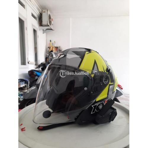 Helm KYT NFJ Espargaro 41 Bekas Bagus Lengkap Sarung Spoiler - Bogor