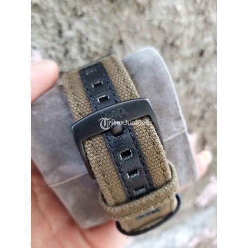 Jam Tangan Jeep Original Mewah Diameter 48mm Bekas Like New With Box - Jakarta