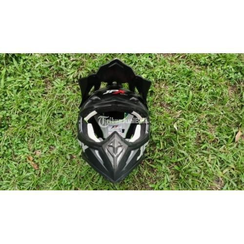 Helm Trail JPX Size L Bekas Mulus No Lecet Busa Tebal Like New - Bogor