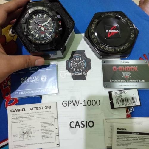 Jam Tangan G-Shock GPW 1000 Black edition Second Original Normal - Solo