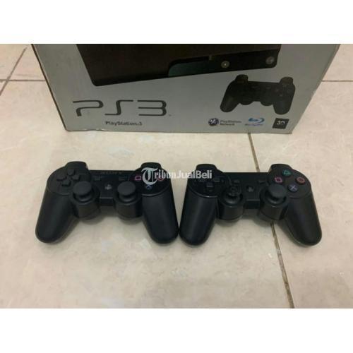 Konsol Game Sony PS3 Slim Seri 25 Original Bekas Terawat Lengkap - Depok