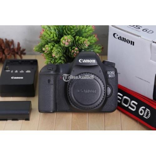 Kamera Canon EOS 6d Wifi Body Only Bekas Full Frame Normal Mulus - Jakarta Selatan