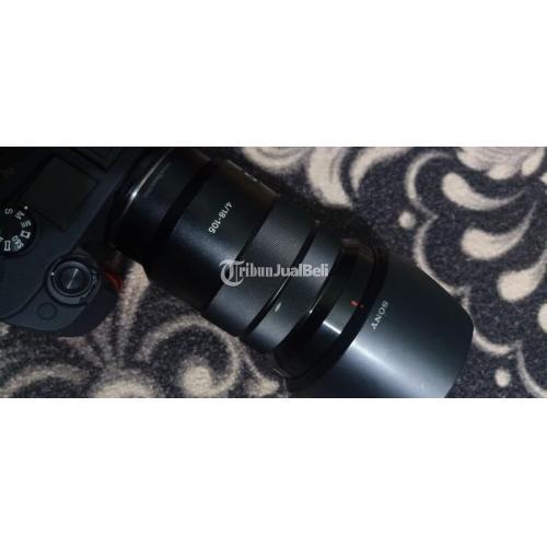 Lensa Sony 18-105mm F4 G Oss Bekas Normal Bebas Jamur Mulus - Semarang