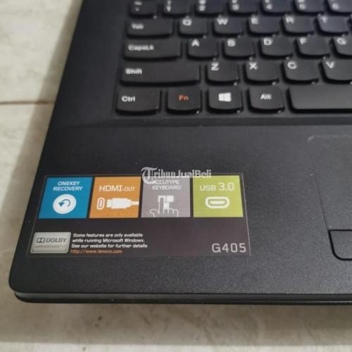 Laptop Lenovo G405 Amd E1-2100 Bekas Mulus Like New Normal - Jakarta