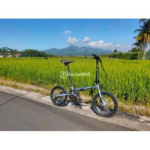 Sepeda Lipat PASIFIC Analog 2.2 16inch Bekas Terawat Upgrade Bagus - Sidoarjo