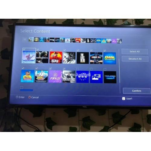 Konsol Game Sony PS4 Slim Hen 1TB Bekas Like New Normal Harga Nego - Surabaya