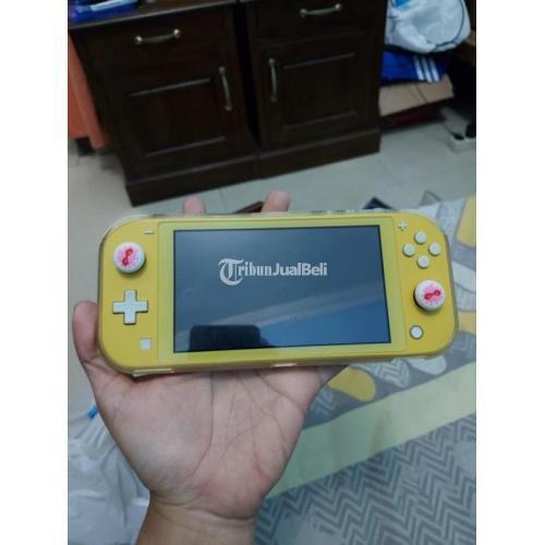 Konsol Game Nintendo Switch Lite Mulus Fullset Bekas No Drift - Jogja