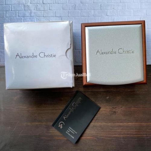 Jam Tangan Alexandre Christie 6426MC Second Mulus Normal Original - Solo