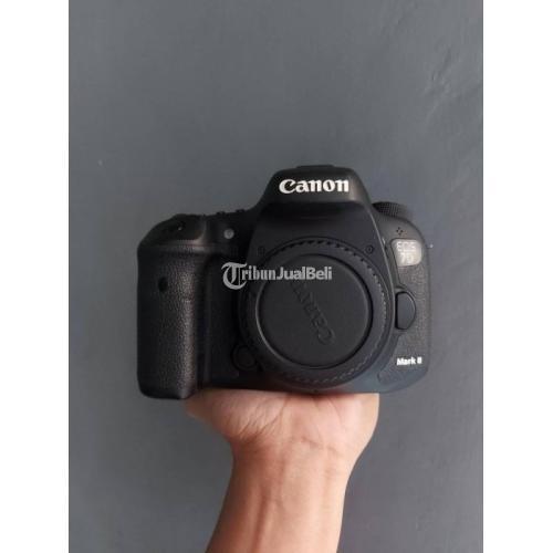 Kamera DSLR Canon 7d Mark ii Bekas Like New Normal Mulus - Jakarta
