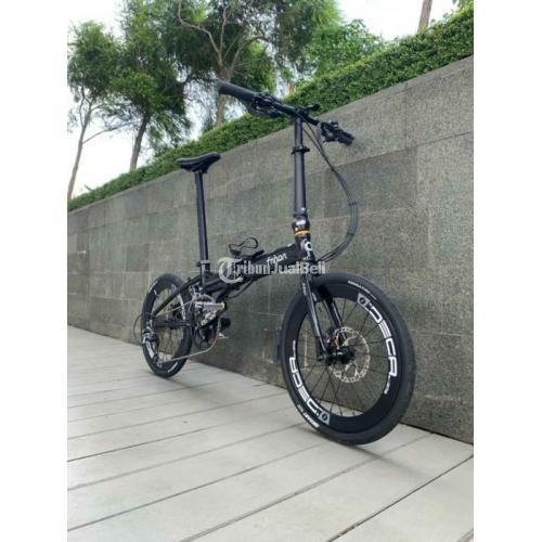 Sepeda Lipat FNHON Blast Bekas Like New Normal Mulus Harga Nego - Tangerang