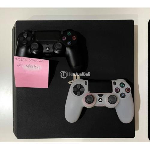 Konsol Game Sony Playstation 4 PRO CUH-7000B Second Normal - Jakarta
