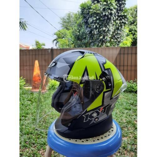 Helm KYT NFJ Espargaro 41 Size L Fullset Bekas Bagus - Bogor