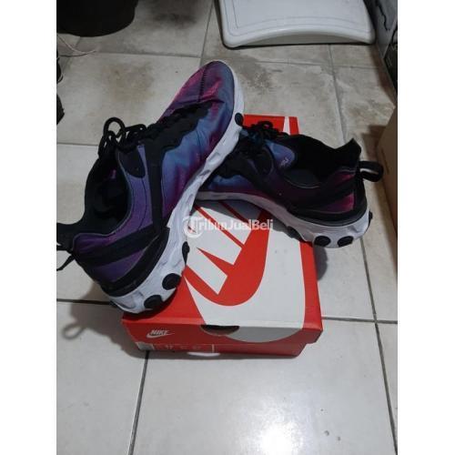 Sneakers Nike React Element 55 Limited Uk 43 Second Fullset Ori - Jakarta