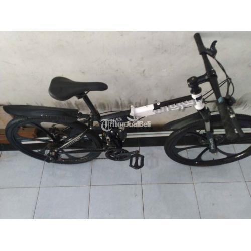 Sepeda Gunung Lipat merk BMW 26 Inc Bekas Groupset Shimano - Medan
