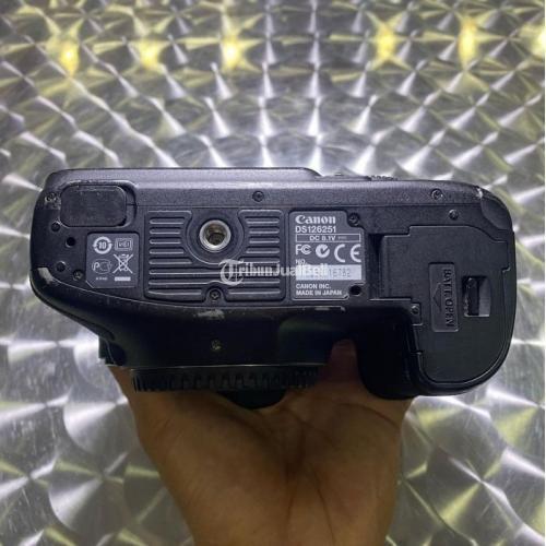 Kamera DSLR Canon EOS 7D Body Only Bekas Fullset Bebas Jamur - Kebumen