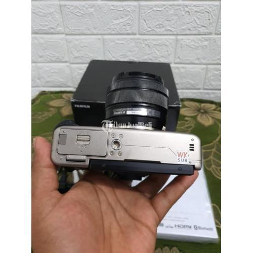 Kamera Fujifilm X-T100 Lensa 15-45mm OIS PZ Bekas Fungsi Normal - Surabaya
