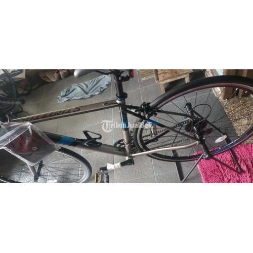 Sepeda Polygon New Strattos S2 Size M Bekas Normal Fullset - Badung