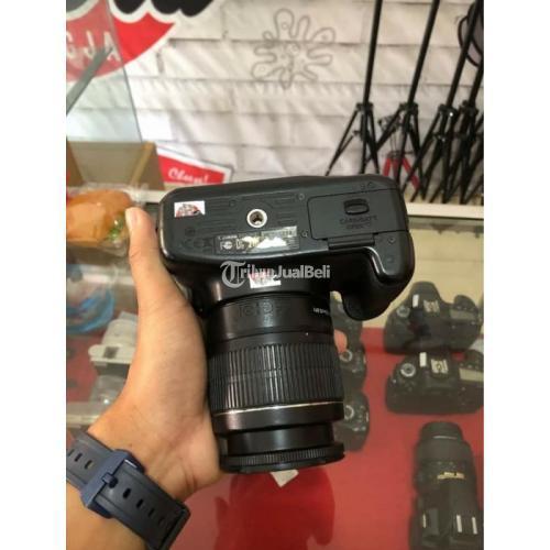Kamera Canon 1200D Lensa Kit 18-55mm Fullset Bekas Bonus Tas - Blora