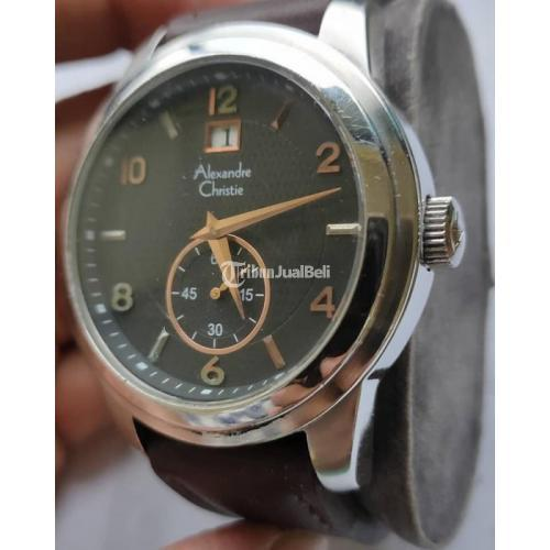 Jam Tangan Alexandre christie 8263MS Diameter 47mm Bekas Normal - Depok