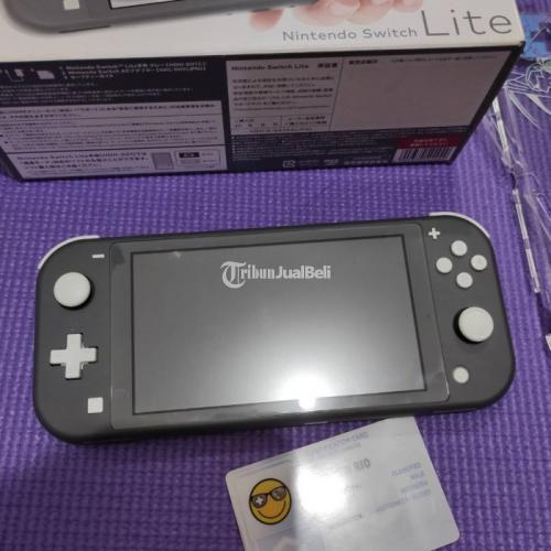 Konsol Game Nintendo Switch Lite Bekas Mulus Like New Fullset Ori - Bekasi