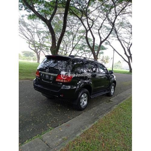 Mobil Toyota Fortuner G Manual Diesel 2008 Bekas Orisinil Pajak On - Tangerang