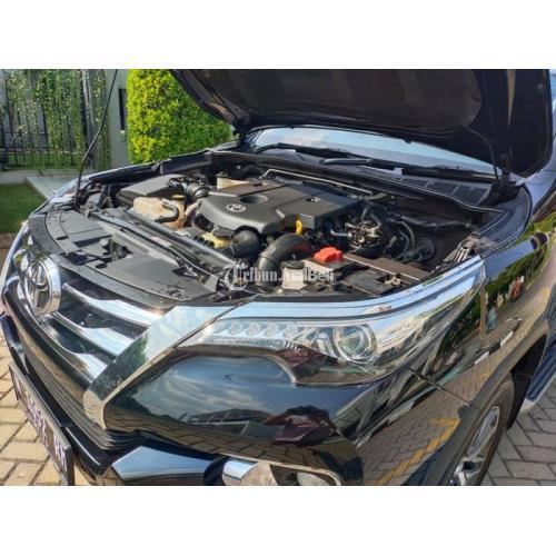 Mobil Toyota Fortuner VRZ 2016 Bekas Orisinil Sehat Surat Lengkap Pajak Panjang - Sidoarjo