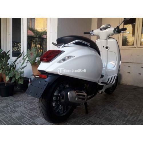 Motor Vespa Sprint Iget 150 2017 Bekas Surat Lengkap Pajak Hidup - Semarang