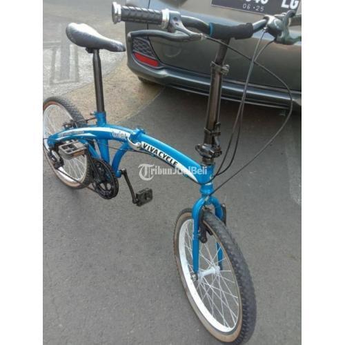 Sepeda Lipat R20 Viva Cycle Siap Gowes Bekas Normal Harga Nego - Semarang
