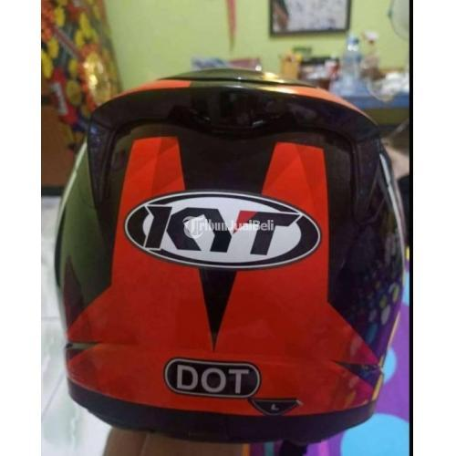 Helm KYT K2R Diamond Bekas Bagus Busa Tebal Harga Nego - Semarang
