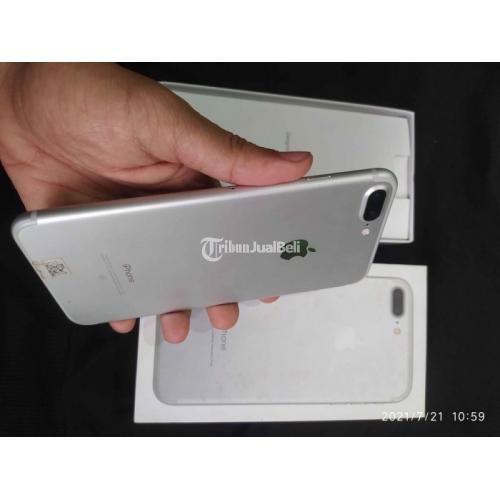 HP iPhone 7 Plus 128GB White Bekas Fullset Kondisi Normal Garansi - Semarang