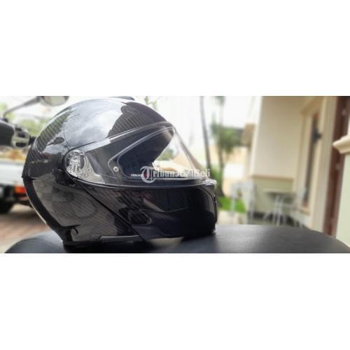 Helm Full Face AGV Ori Carbon Bekas Lengkap Like New Harga Nego - Makassar