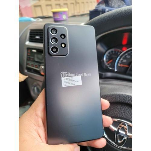 HP Samsung A52 Awesome Black 8/256GB Bekas Fullset Original Garansi On - Medan