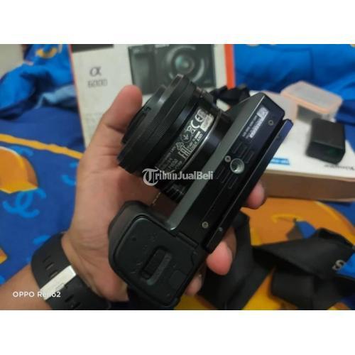 Kamera Mirorless Sony Alpha A6000 Fullset Bekas Nominus Normal - Medan