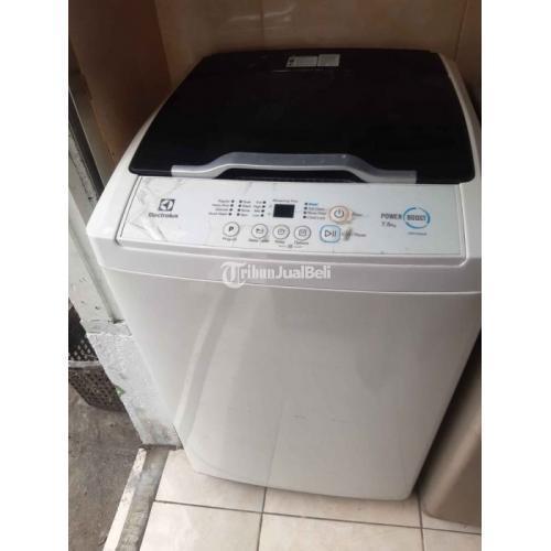 Mesin Cuci merk Electrolux Kapsasitas 7,5kg Bekas Like New Ori Normal - Denpasar