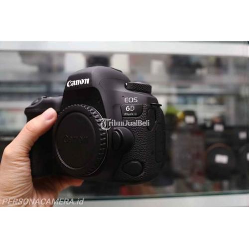 Kamera Canon 6D Mark II Lensa Bebas Jamur Bekas Normal Fullset - Bogor