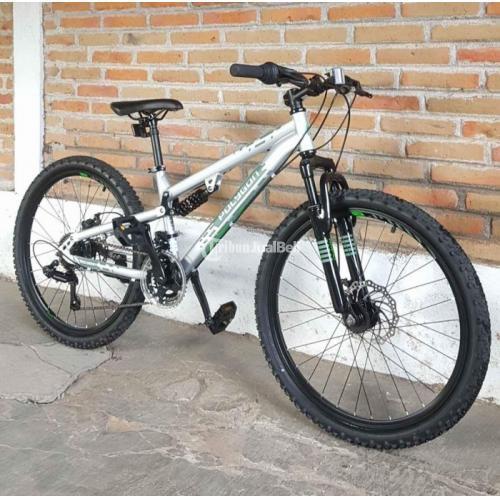 Sepeda Gunung MTB Polygon Fulsus Rapid 24inch Bekas Mulus Like New - Jogja