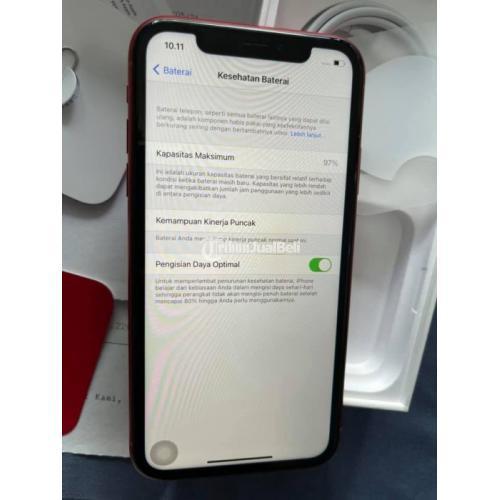 HP Apple iPhone XR 128GB Bekas Mulus Garansi Resmi iBox On - Bangkalan