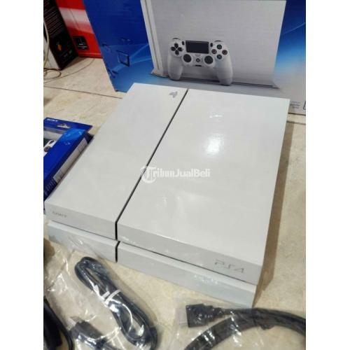 Konsol Game Sony PS4 Fat HEN CUH 1206A 1TB Bekas Like New - Surabaya