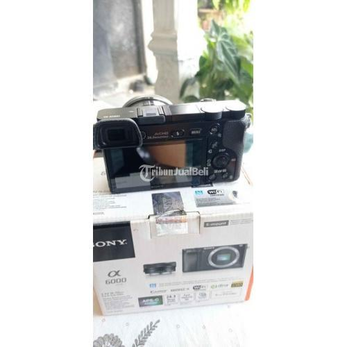 Kamera Sony A6000 Lensa Kit 16-50mm Bebas Jamur Bekas Normal - Yogyakarta