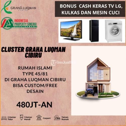 Dijual Rumah Cluster islami di bandung bisa custom desain - Bandung