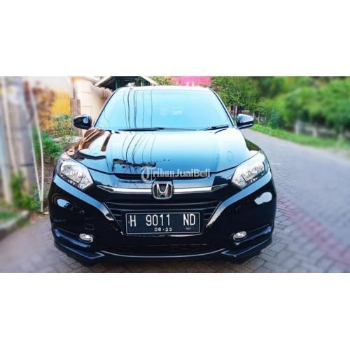 Mobil Honda HR-V 1.5 Tipe E 2018 Hitam Bekas Full Orisinil Terawat - Semarang