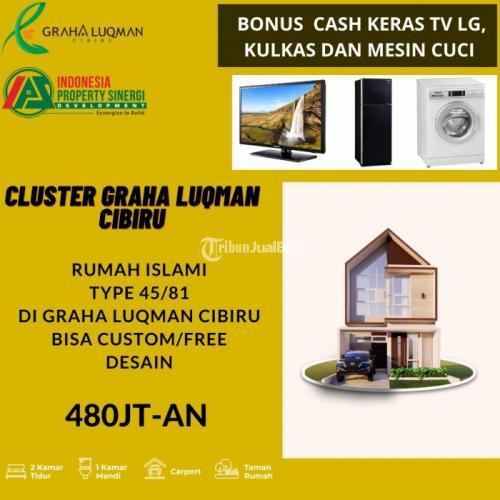 Dijual Rumah Baru Cluster muslim terjangkau Desain Bisa Custom - Bandung