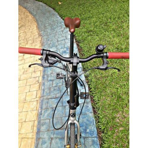 Sepeda Lipat Pacific Noris 2.0 Upgrade Frame Allow Bekas Normal - Jakarta Timur