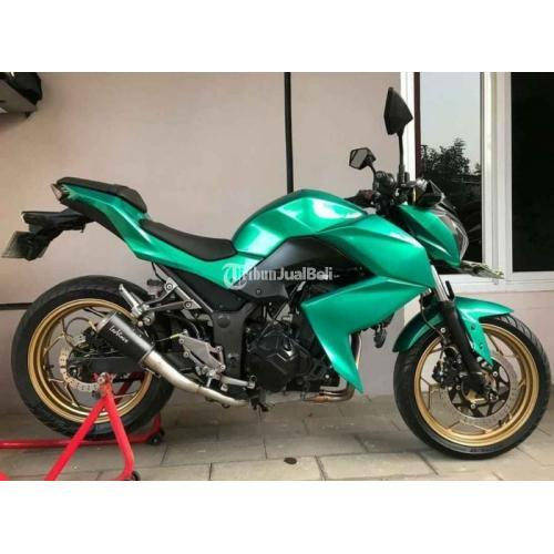 Motor Kawasaki Z250 FI 2014 Bekas Mesin Sehat Surat Lengkap Harga Nego - Jakarta