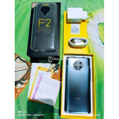 HP Poco F2 Pro Grey 8/256GB Fullset Original Bekas Like New - Karawang