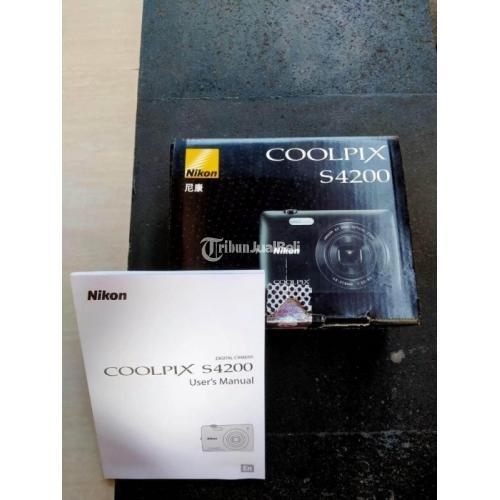 Kamera Nikon Coolpix S4200 Bekas Model Pocket Fungsi Normal - Denpasar
