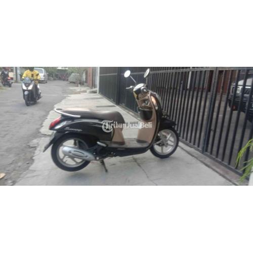 Motor Honda Scoopy 2014 Bekas Surat Lengkap Mesin Mulus Siap Pakai - Denpasar