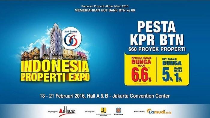 Bingung Cari Rumah KPR Bunga Rendah? Kunjungi Nih Indonesia Property Expo 2017